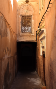 Alleyway in Marrakech