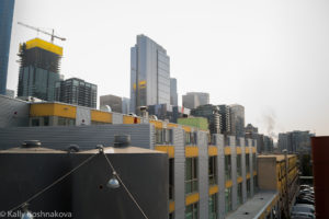 Buildings at Seattle shorefront